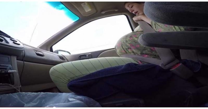 美婦車上產子有驚無險