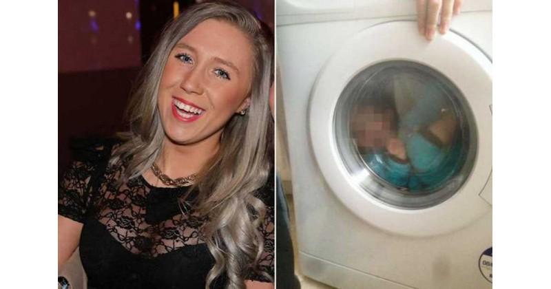 玩出禍!英女上載幼兒躺洗衣機照被登門襲擊