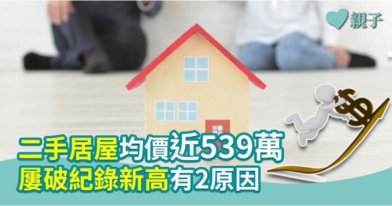 【樓市分析】二手居屋均價近539萬 屢破紀錄新高有2原因