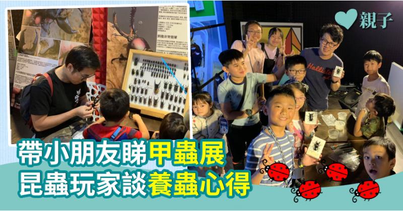 【周末好去處】帶小朋友睇甲蟲展  昆蟲玩家談「湊蟲經」