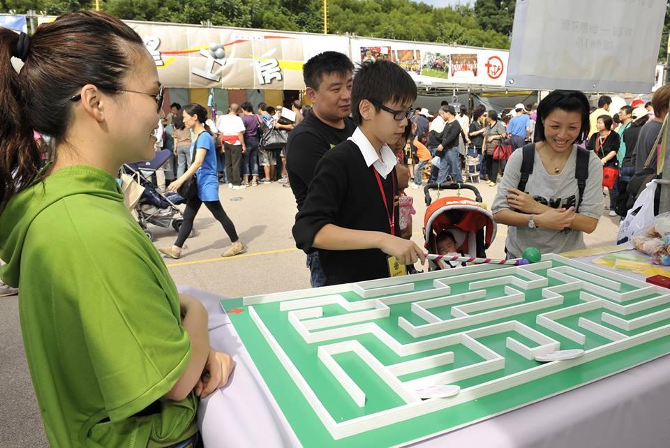 【親子好去處】 明愛賣物會  攤位遊戲 x 兒童樂園