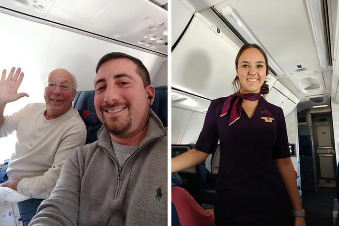 【前世情人】空姐聖誕要返工 窩心爸爸搭6班機相陪