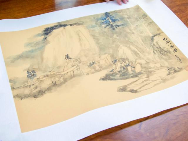 【親子專訪】國畫與生活的距離 大師教兒童畫出興趣